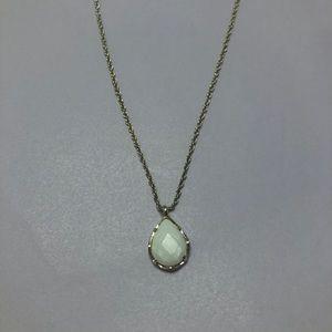 Kendra Scott Kiri Necklace White Gold Chain